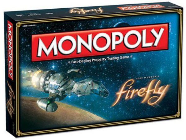 Firefly Monopoly Board Game Set