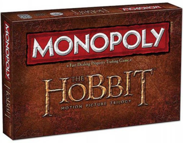 The Hobbit Trilogy Monopoly Board Game Set
