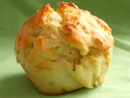 Cheese, Onion and Rosemary Muffins