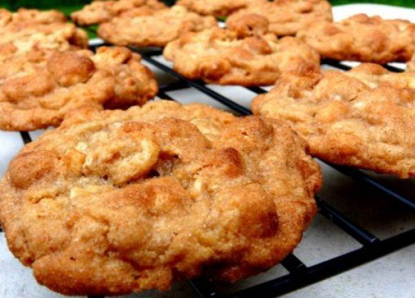 Snickerdoodle Cheerio Cookies