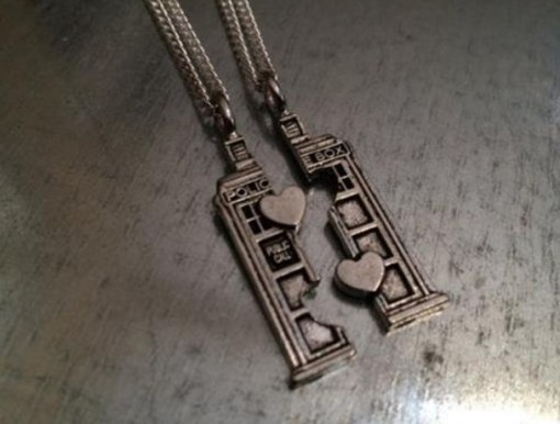 Dr Who Friendship Necklace