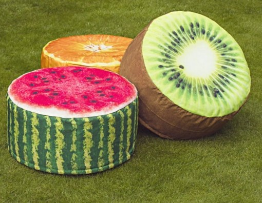 Fruit Slices Pouffes
