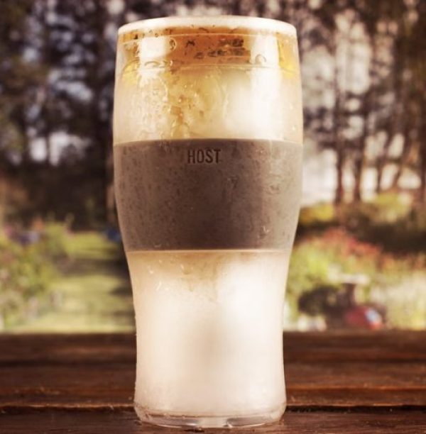 Self Freezing Beer and Pint Glass
