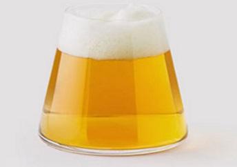 Fujiyama Beer and Pint Glass