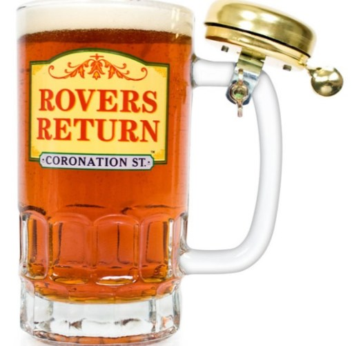 Coronation Street: Rovers Return Beer and Pint Glass