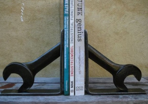 Spanners / Wrenches Used To Make Book Ends