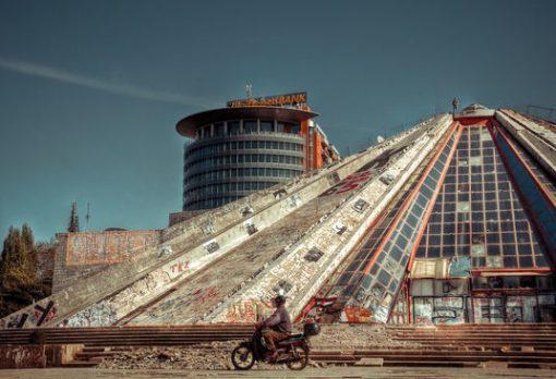 Tirana, Pyramid of Tirana
