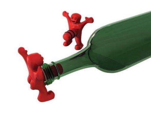 Happy Man Wine Bottle Stoppers