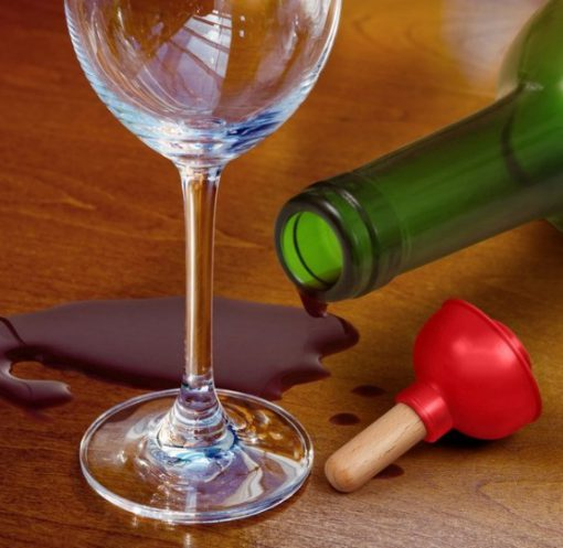 Plunger Wine Bottle Stoppers