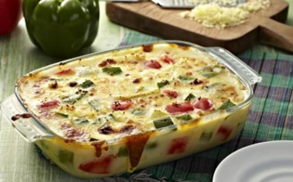 Cheese and Vegetable Gratin
