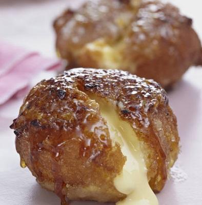 Creme Brûlée Doughnuts