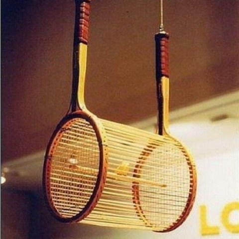 Top 10 Things You Can Make With Old Sports Rackets