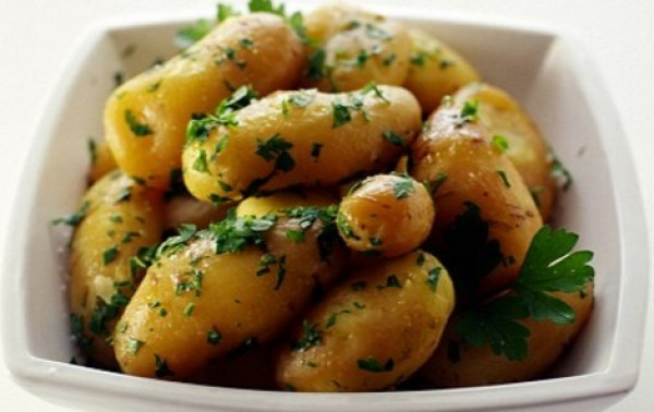 New Potatoes With Parsley