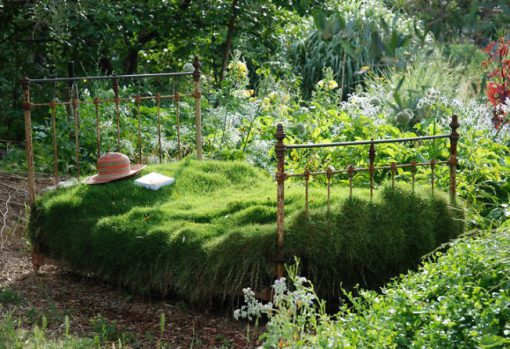 Bed Used to Make a Planter