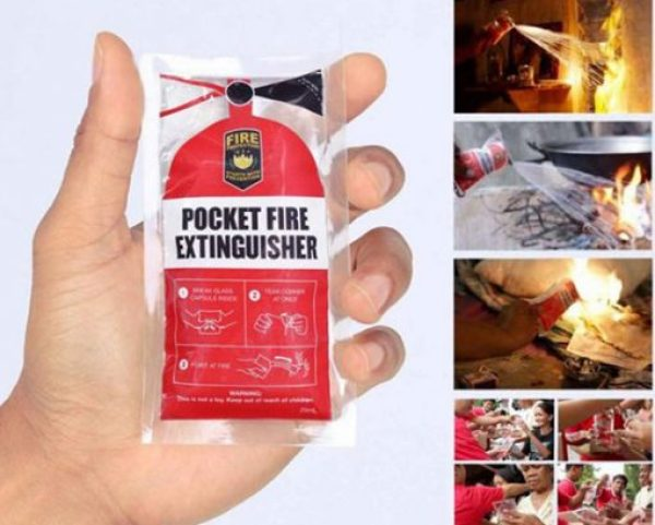 Pocket-Friendly Fire Extinguisher