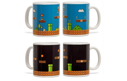 Mario Bros Heat Changing Mug