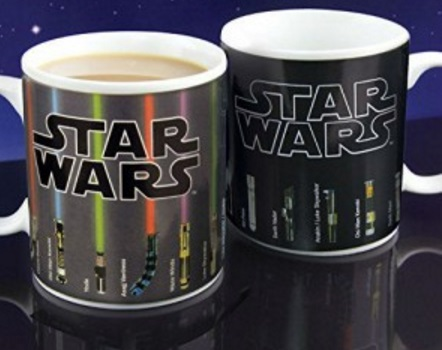 Star Wars: Lightsaber Heat Changing Mug