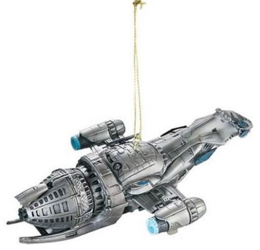 Serenity Spaceship Christmas Tree Ornament