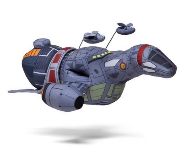 Firefly Serenity Plush Spaceship