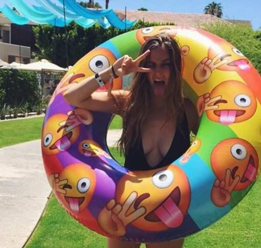 Emoji Pool Inflatable