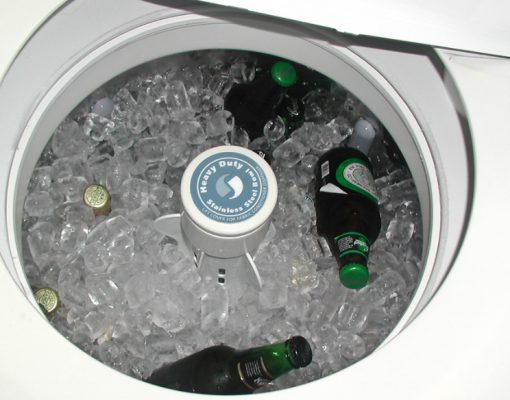 Twin Tub Turned into an Ice Bucket