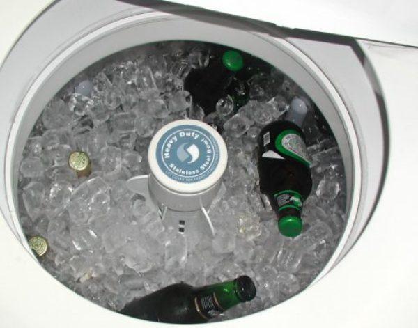 Twin Tub Turned into an Ice Bucket
