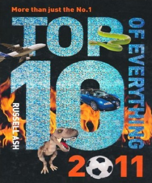 Top 10 of Everything 2011 - By Russell Ash
