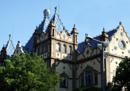 The Hungarian Geological Institute Building, Budapest