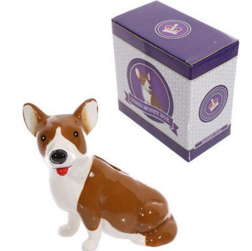 Corgi Money Box