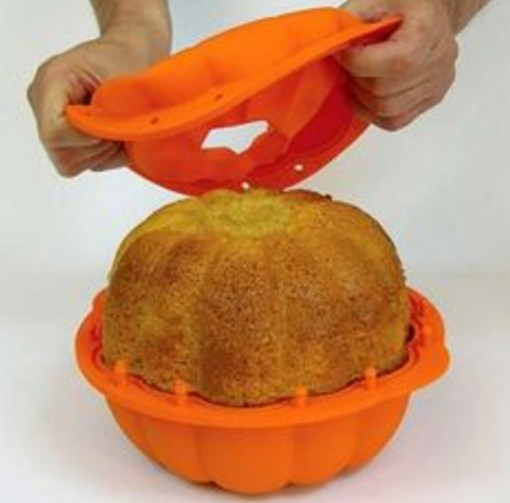 Pumpkin Cake Silicone Mould