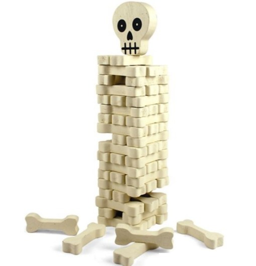 Skull and Bones Jenga