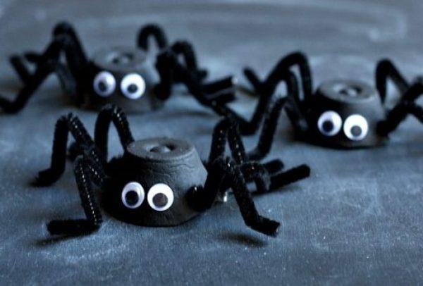 Egg Carton Spiders