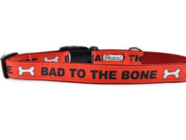 Bad to The Bone Dog Collars