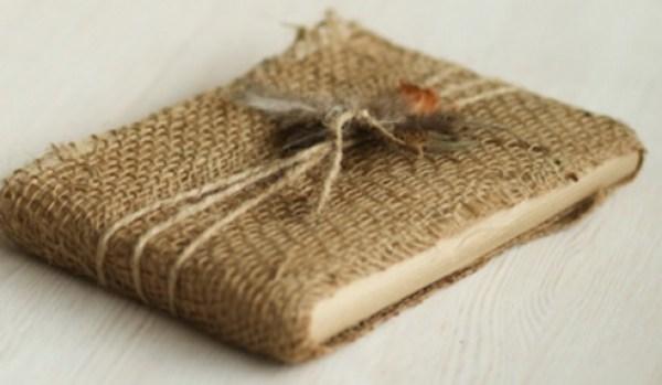 Gift Wrapped in Burlap Potato Bag