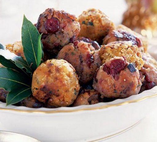 Chestnut, Bacon & Cranberry Stuffing