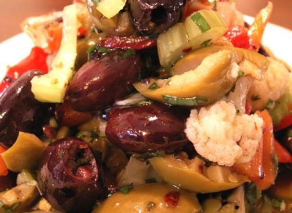 Olive Salad Muffuletta