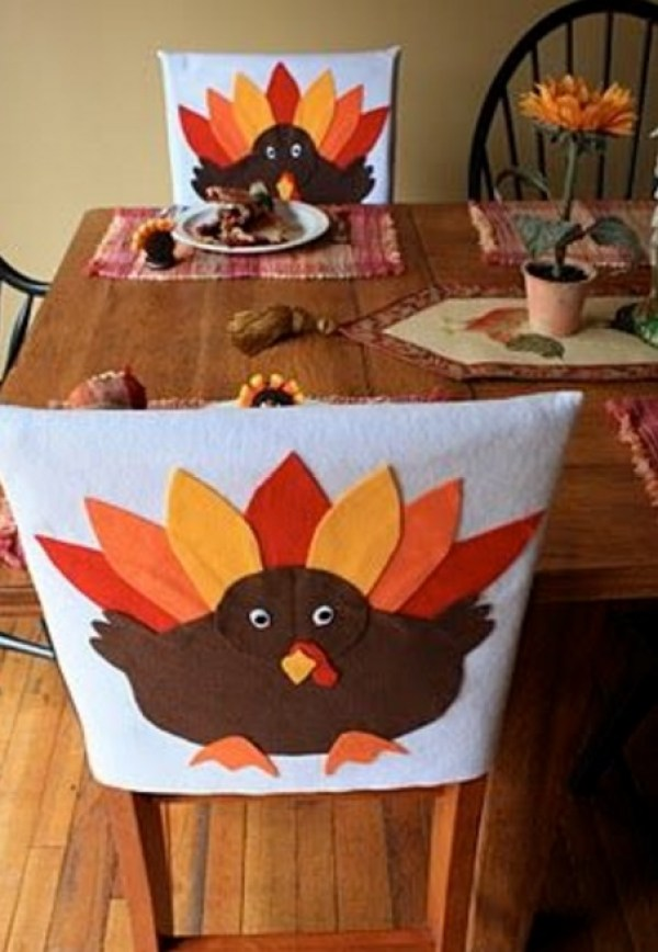Turkey Dining Chair Slipcovers
