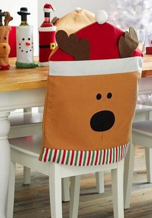 Reindeer Dining Chair Slipcovers