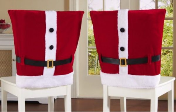 Santa Suit Dining Chair Slipcovers