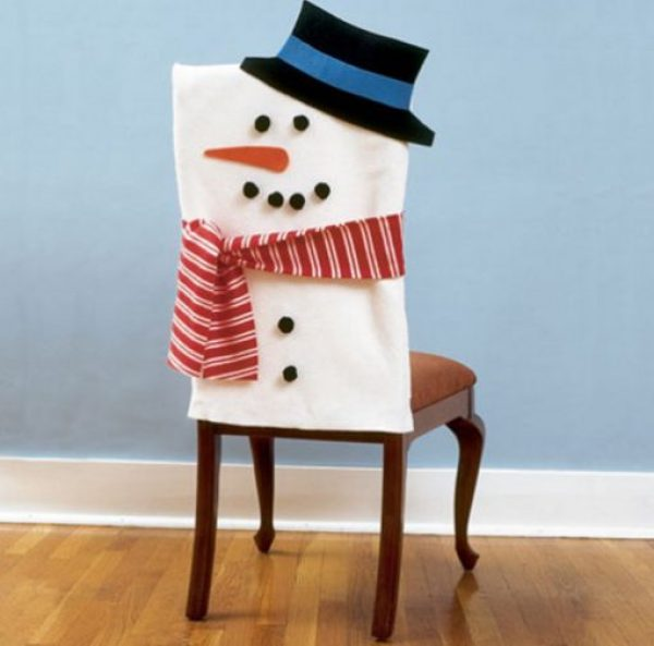 Snowman Dining Chair Slipcovers