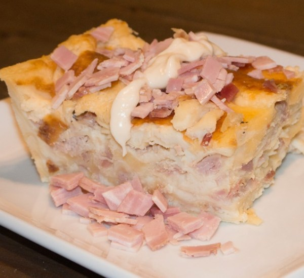 Ham and Cheese Lasagna