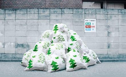 Festive Novelty Bin Bags