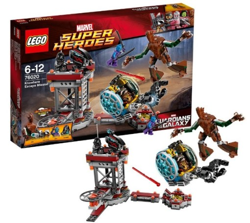 LEGO Super Heroes: Nowhere Escape Mission
