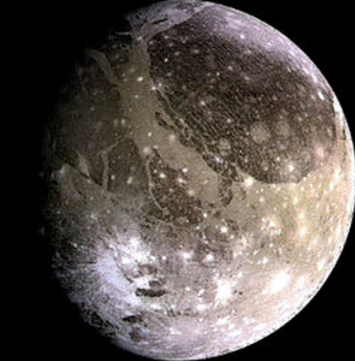 Ganymede (Largest Moon of Jupiter)