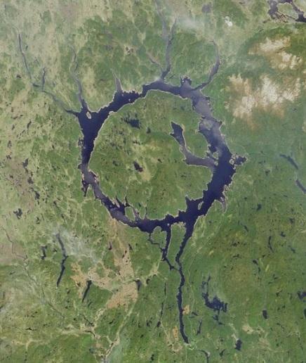 Manicouagan Crater, Canada