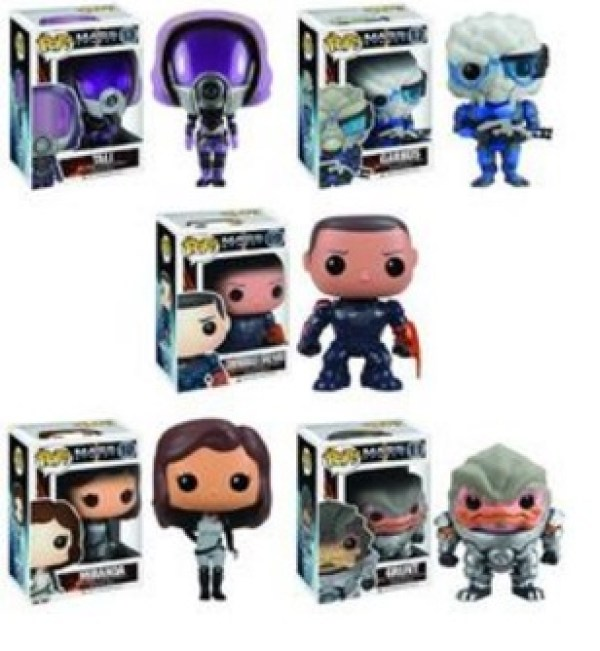 Mass Effect Pop! Characters
