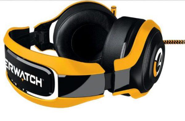 Overwatch Razer ManO'War Tournament Edition gaming Headphones and Microphone