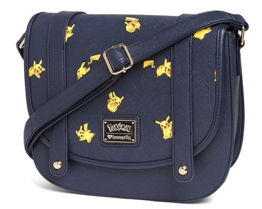 Pikachu Leather Crossbody Bag