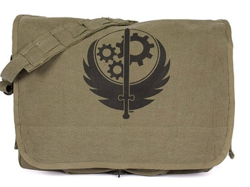 Fallout Brotherhood of Steel Messenger Bag
