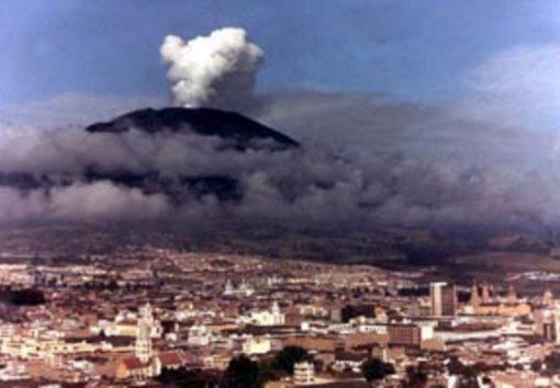 Galeras Volcano, Ecuador